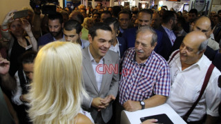 Το σχόλιο του Τσίπρα για το μετρό της Θεσσαλονίκης και η ατάκα για τον... ΠΑΟΚ