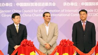 ΔΕΘ 2017: o Τσίπρας εγκαινίασε το Κινεζικό περίπτερο (vid)