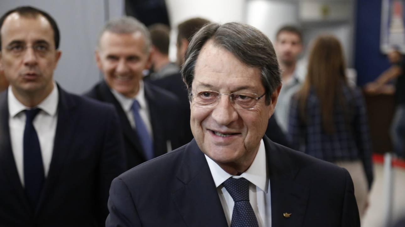 Έκκληση Αναστασιάδη στην Τουρκία να αλλάξει στάση στο Κυπριακό