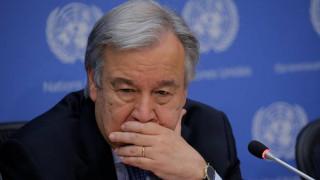 Ο Γκουτέρες δηλώνει «πολύ ανήσυχος» για την κατάσταση στην Β. Κορέα