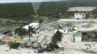 Ίρμα: Εικόνες καταστροφής στις Βρετανικές Παρθένες Νήσους (vid)