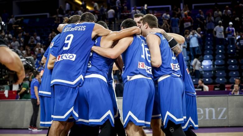 Eurobasket 2017: Top-5 με Μπουρούση και γαλανόλευκο γλέντι στο παρκέ (pic+vid)