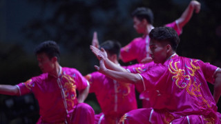 Θεσσαλονίκη: Πολεμικές τέχνες και παραδοσιακοί χοροί της Κίνας στην 82η ΔΕΘ (pics)
