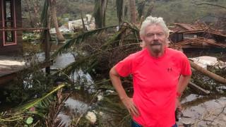 Η Ίρμα ισοπέδωσε το νησί του Ρίτσαρντ Μπράνσον (pics&vid)