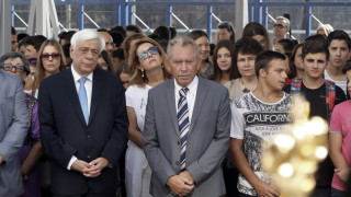 Μήνυμα αισιοδοξίας έδωσε ο Πρόεδρος της Δημοκρατίας στους μαθητές σχολείου του Καλάμου Αττικής