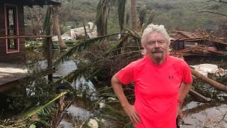 Τυφώνας Ίρμα: Ο Ρίτσαρντ Μπράνσον ποστάρει εικόνες ισοπέδωσης από το ιδιωτικό νησί του