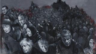 Τραμπ, Πούτιν, Άσαντ: Οι ηγέτες του κόσμου πρόσφυγες για Σύρο καλλιτέχνη
