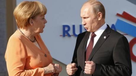 Κοινή στάση Μέρκελ - Πούτιν για Βόρεια Κορέα και ανατολική Ουκρανία