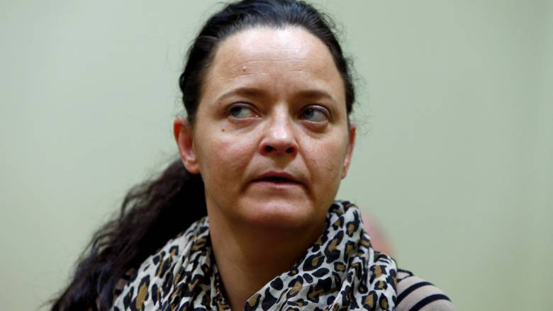 Πρόταση για ισόβια κάθειρξη στη νεοναζί μέλος ομάδας που δολοφόνησε δέκα άτομα