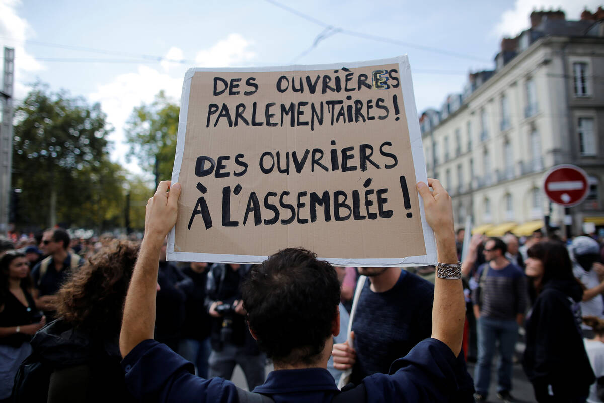 2017 09 12T131600Z 558197286 RC12C1302030 RTRMADP 3 FRANCE REFORM PROTESTS