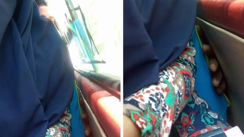 Αιγύπτια φωτογράφισε μέσα σε λεωφορείο τη στιγμή της απόπειρας σεξουαλικής παρενόχλησης (Pics)