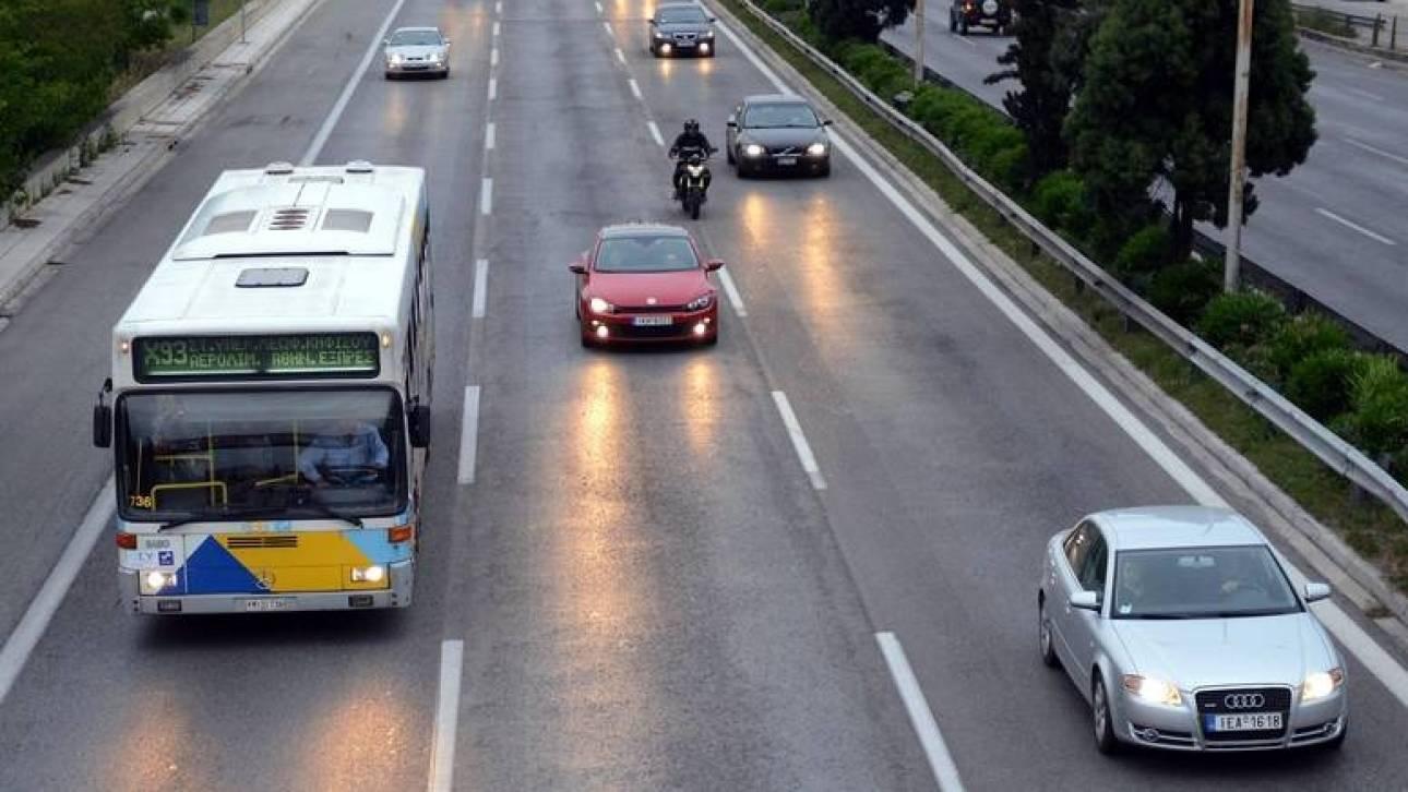 Στάση εργασίας στα λεωφορεία – Αυξημένη η κίνηση στους δρόμους