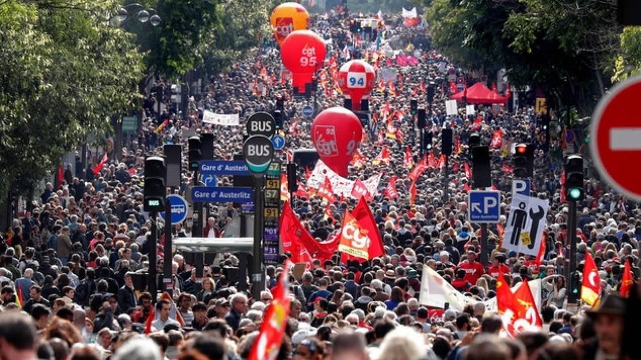 Γάλλος πρωθυπουργός: Η εργασιακή μεταρρύθμιση θα προχωρήσει παρά τις διαδηλώσεις