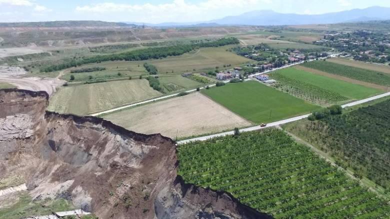 Φλώρινα: Νέα προειδοποίηση για εκκένωση του οικισμού των Αναργύρων