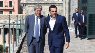 Υπό δρακόντεια μέτρα ασφαλείας η συνάντηση Τσίπρα - Τζεντιλόνι στην Κέρκυρα (pics)