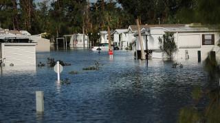 Εικόνα απόλυτης καταστροφής στη Φλόριντα από το πέρασμα του τυφώνα Ίρμα