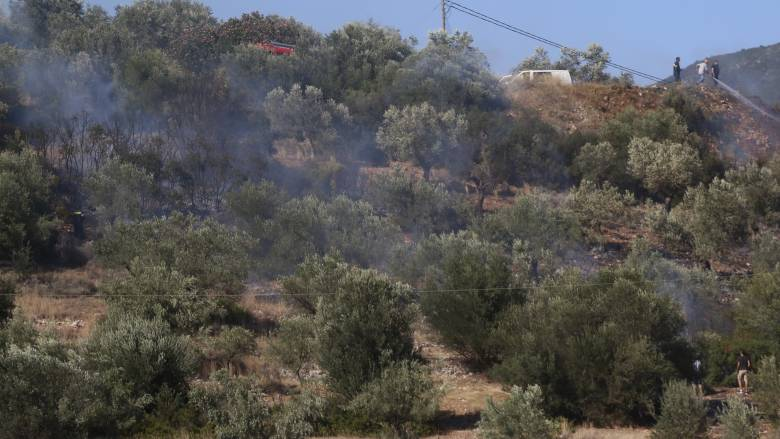 Πυρκαγιά στην Λάρισα