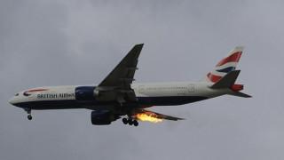 Τρόμος σε πτήση από Λονδίνο για Αθήνα - Μηχανή τυλίχτηκε στις φλόγες (Pics)