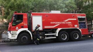 Πυρκαγιά σε διαμέρισμα στην οδό Αχαρνών - Απομακρύνθηκαν δύο άτομα