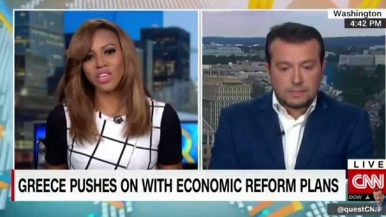 Παππάς στο CNNi: Το Eurogroup θα διασφαλίσει την επιστροφή της χώρας στις αγορές το 2018