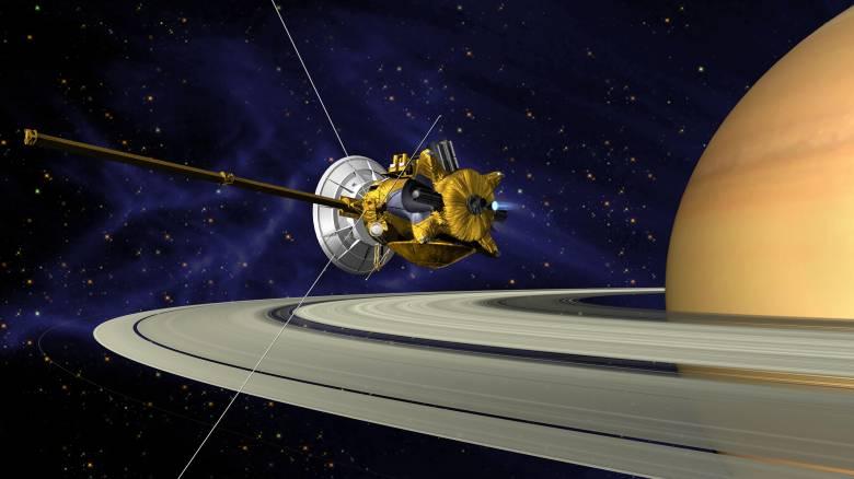 Η συντριβή του Cassini σε ζωντανή μετάδοση