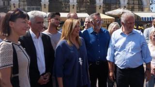 Γεννηματά: Να αποκτήσει και πάλι ζωντάνια το ιστορικό κέντρο της Αθήνας (pics)