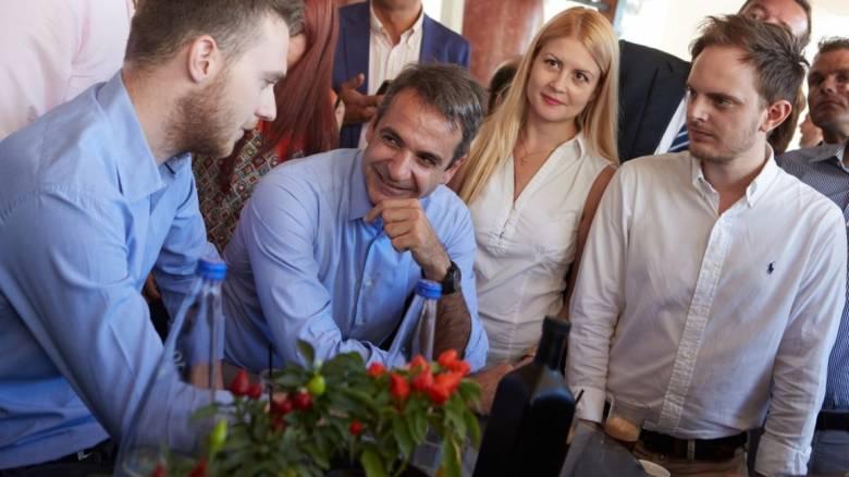 Σειρά επαφών Μητσοτάκη στη Θεσσαλονίκη (pics)