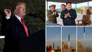 Νέες προειδοποιήσεις Τραμπ προς τη Βόρεια Κορέα που είναι κοντά στην απόκτηση πυρηνικών όπλων