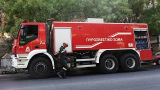 Φωτιά σε διαμέρισμα στη Λάρισα - Απεγκλωβίστηκε μία ηλικιωμένη