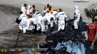 Ως το Λαγονήσι έφθασε η ρύπανση-800 τόνοι μαζούτ έχουν απαντληθεί από τον Σαρωνικό