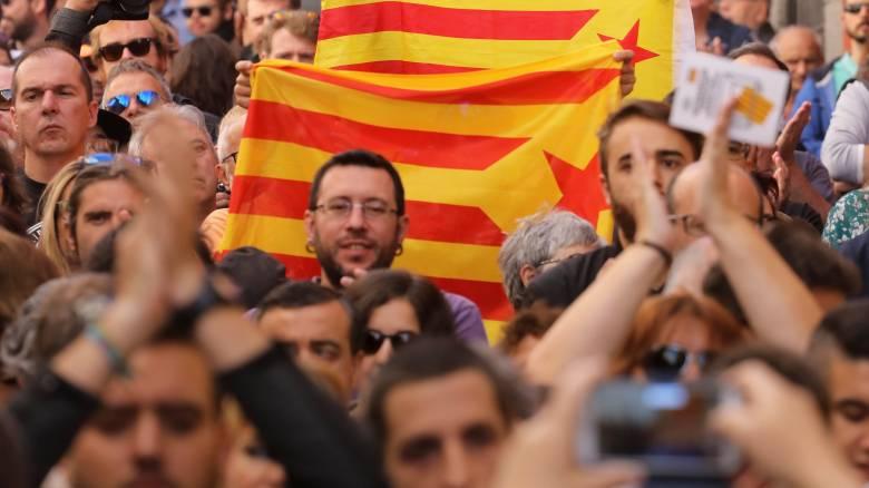 Ισπανία: Στους δρόμους οι κάτοικοι της Μαδρίτης για το δημοψήφισμα της Καταλονίας