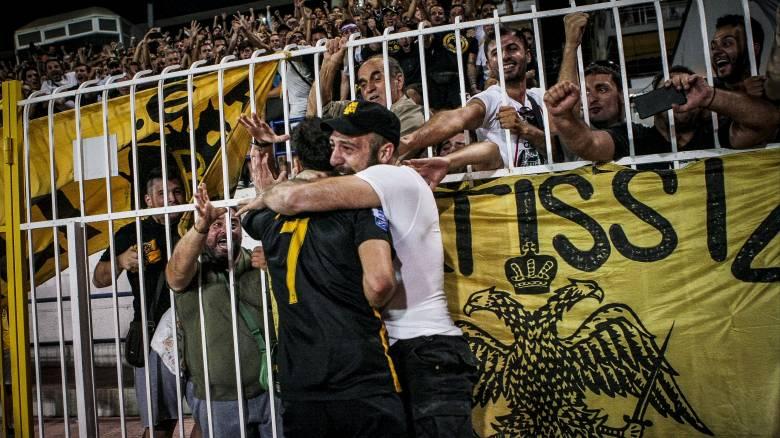 Super League: Μόνη πρώτη η ΑΕΚ με νίκη επί της Λαμίας