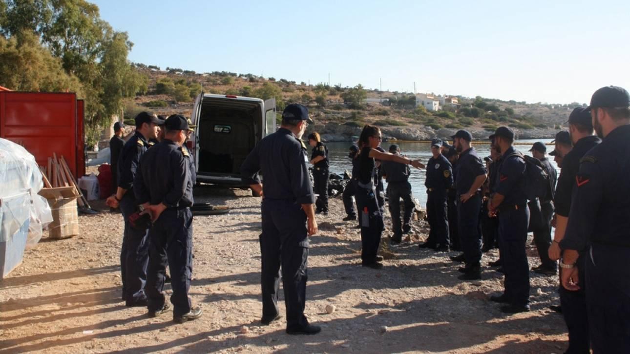 Και οι Ένοπλες Δυνάμεις στη μάχη κατά της θαλάσσιας ρύπανσης (pics)