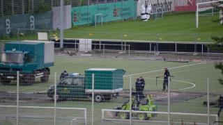 Εντοπίστηκε βόμβα στο προπονητικό κέντρο της Στουτγκάρδης (pics)