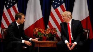 Μακρόν: Δεν θα υποχωρήσω σε τίποτα απ' τη συμφωνία του Παρισιού για το κλίμα