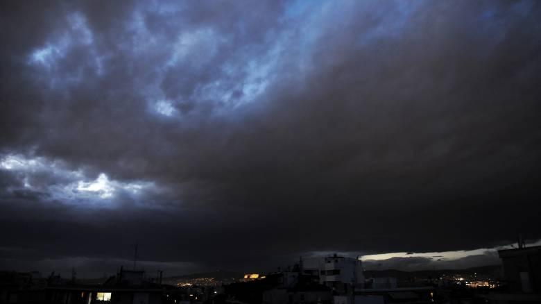 Καιρός: Βροχές και καταιγίδες από την Τετάρτη