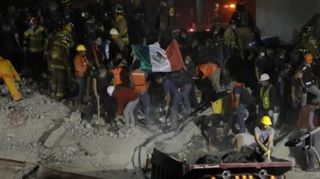 Σεισμός Μεξικό: Εικόνα καταστροφής και πάνω από 200 νεκροί από τα 7,1 Ρίχτερ