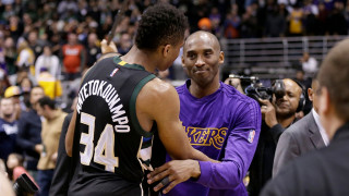 NBA: Ο Κόμπε αποθεώνει το Γιάννη Αντετοκούνμπο (vids)