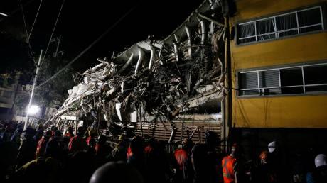Σεισμός στο Μεξικό: Εντατικές έρευνες για τους αγνοούμενους - Αυξήθηκε ο αριθμός των νεκρών