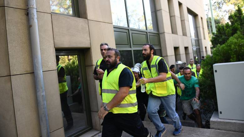 Στην Αθήνα για κινητοποιήσεις οι μεταλλωρύχοι από τις Σκουριές