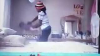 Σοκάρει βίντεο που δείχνει νταντά να πετά μωρό στην κούνια του (vid)