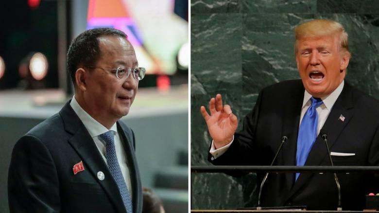 Βόρεια Κορέα: Σαν «σκυλί που γαβγίζει» ακούστηκαν οι απειλές του Τραμπ στην Πιονγκγιάνγκ