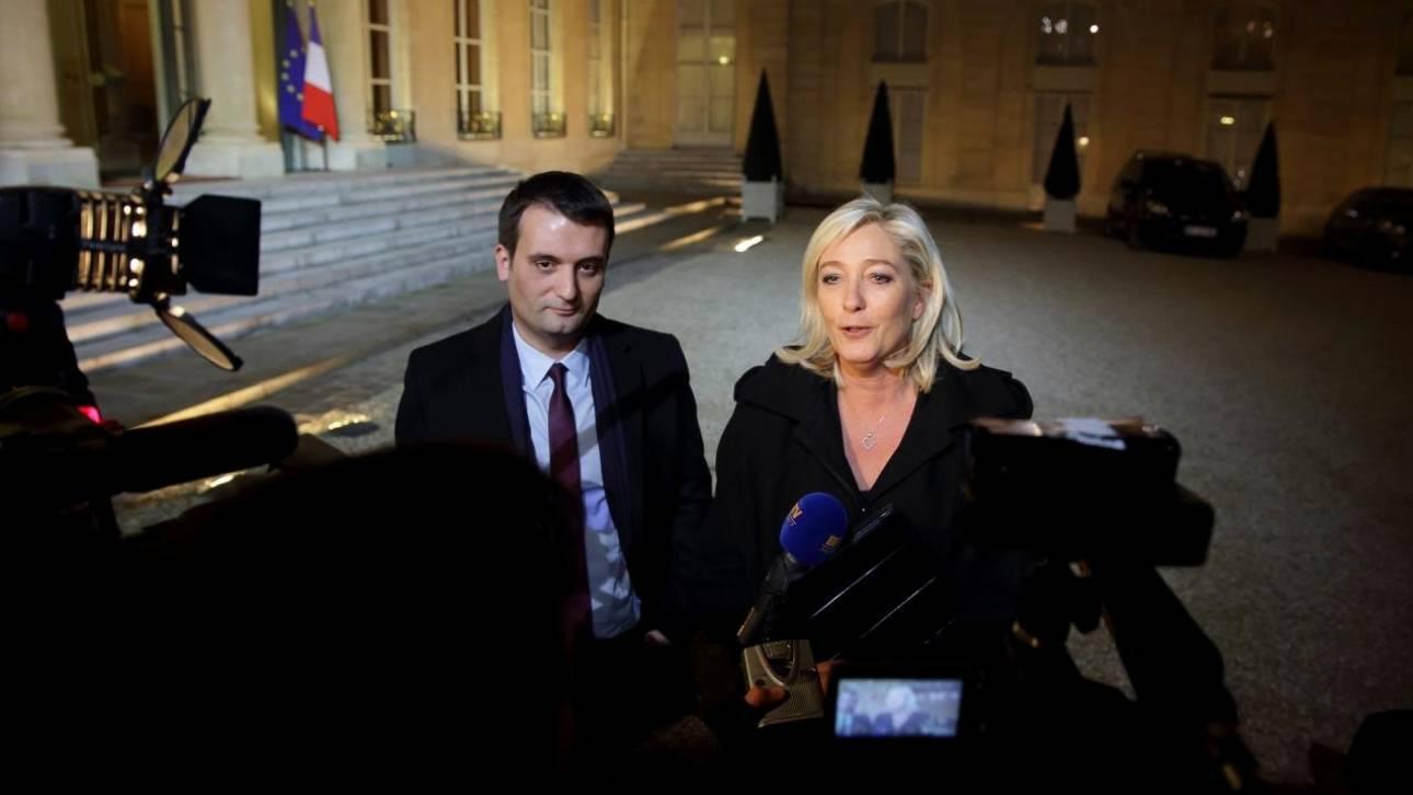 Γαλλία: Παραιτείται από το ακροδεξιό Εθνικό Μέτωπο το δεξί χέρι της Μαρίν Λεπέν