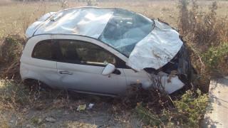 Τροχαίο δυστύχημα στο Αγρίνιο με θύματα δύο σμηνίτες