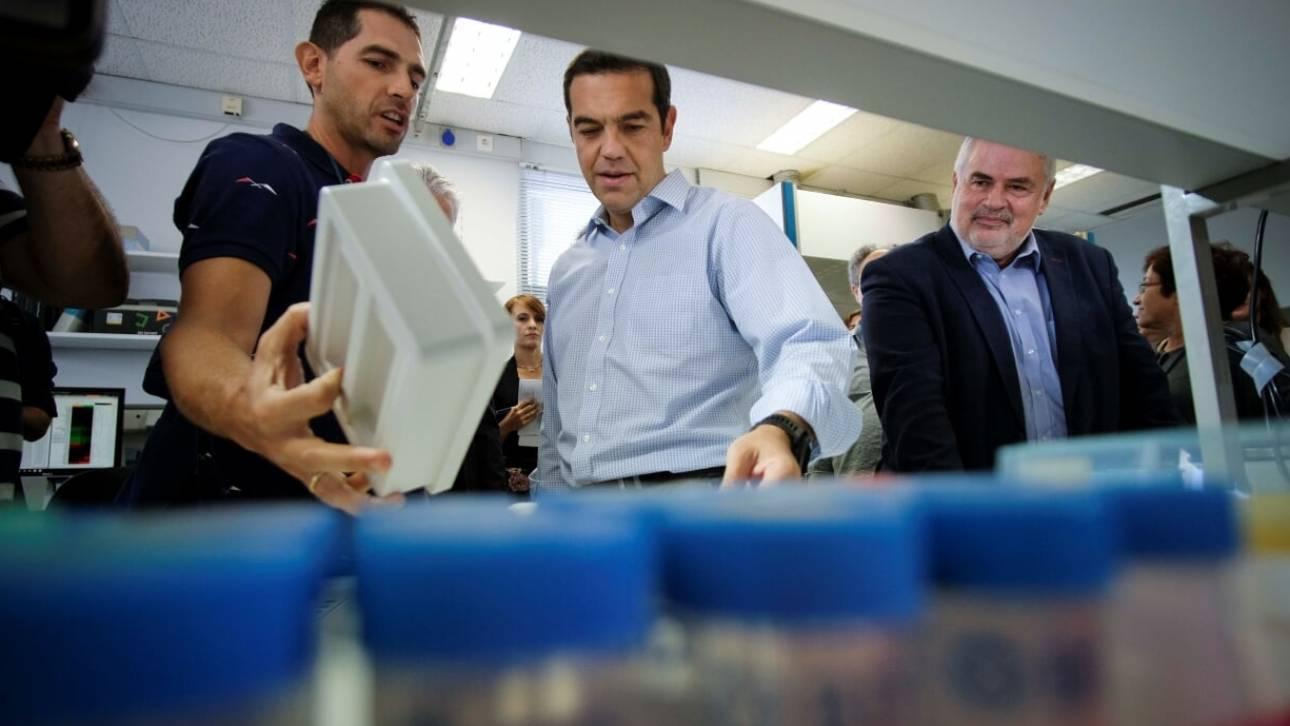 Τσίπρας από την Κρήτη: Αν δώσουμε ανάσα στην έρευνα θα κάνουμε θαύματα (pics)