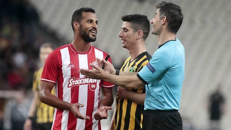 Ο Σιδηρόπουλος διαιτητής στο ντέρμπυ ΑΕΚ-Ολυμπιακού