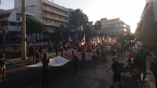 Με κινητοποιήσεις «υποδέχονται» τον Τσίπρα στο Ηράκλειο της Κρήτης (pics)