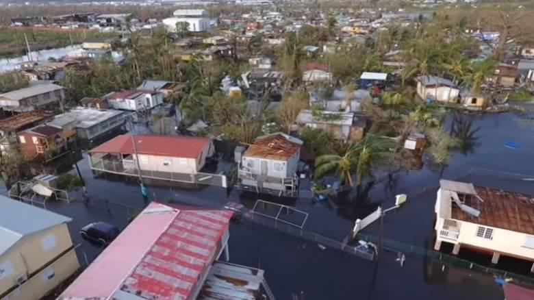 Τυφώνας Μαρία: Το Πουέρτο Ρίκο από drone μετά το πέρασμα του φονικού τυφώνα