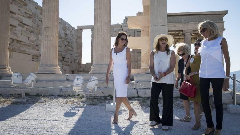 Η Μπριζίτ Μακρόν μιλά για την επίσκεψη στην Ελλάδα: Τα μέρη που ξεχώρισε (vid)