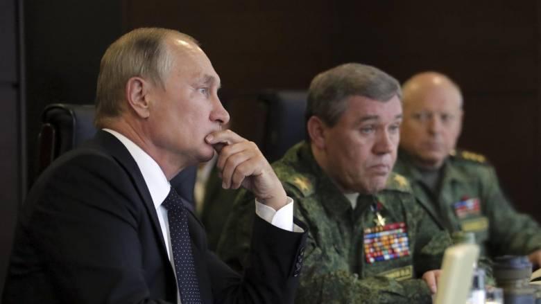 Η Ρωσία προχωρά στην καταστροφή των χημικών της όπλων